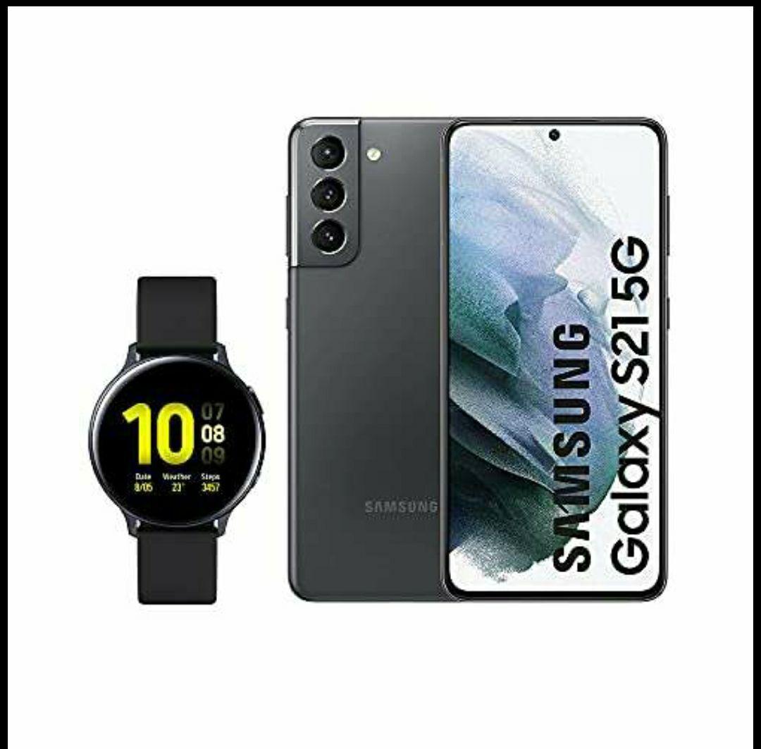 Samsung Galaxy S21 5G y Watch Active 2 de regalo