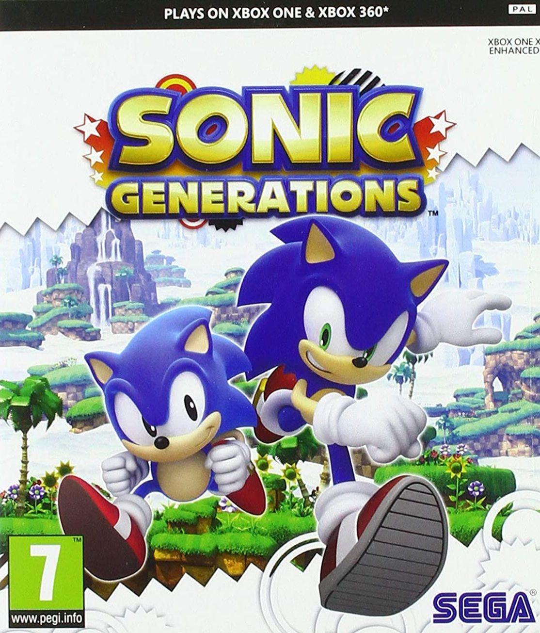 Sonic Generations Classics (Xbox One)