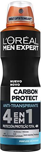 L'Oreal Paris Men Expert Deo Spray Carbon, 6 x 150ml