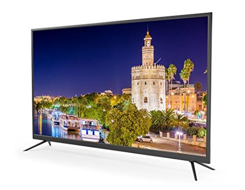 Televisores led 4K Ultra HD 55 Pulgadas TD Systems K55DLM7U (Resolución 3840x2160/ HDMI x3/ VGA x1/ Eur x1/ USB Reproductor y Grabador) TV, Televisiones HD [Clase de eficiencia energética A+]