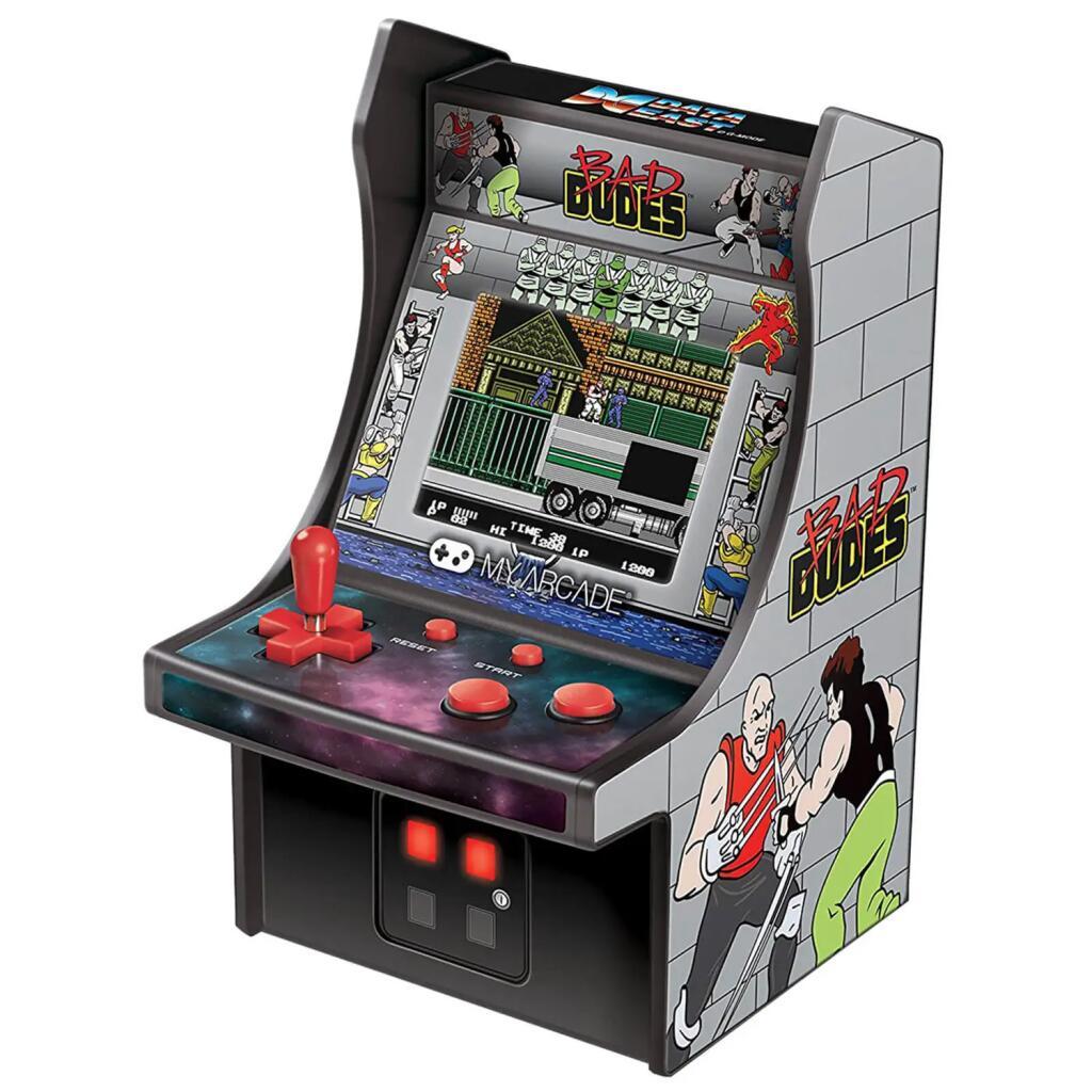 Micro Consola DreamGear Retro Arcade Bad Dudes