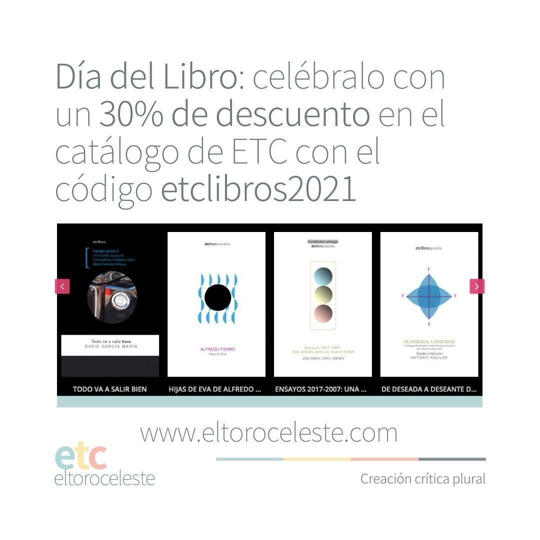 30% de descuento en libros.