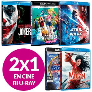 2x1 En cine Blu-Ray