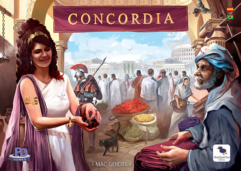 Concordia - Juego de Mesa (+ las expansiones en la descripción)