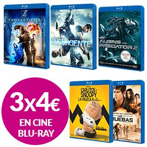 3 películas en Blu-ray por 4€!!!