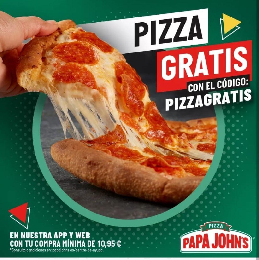 Pizza gratis (leer descripción)