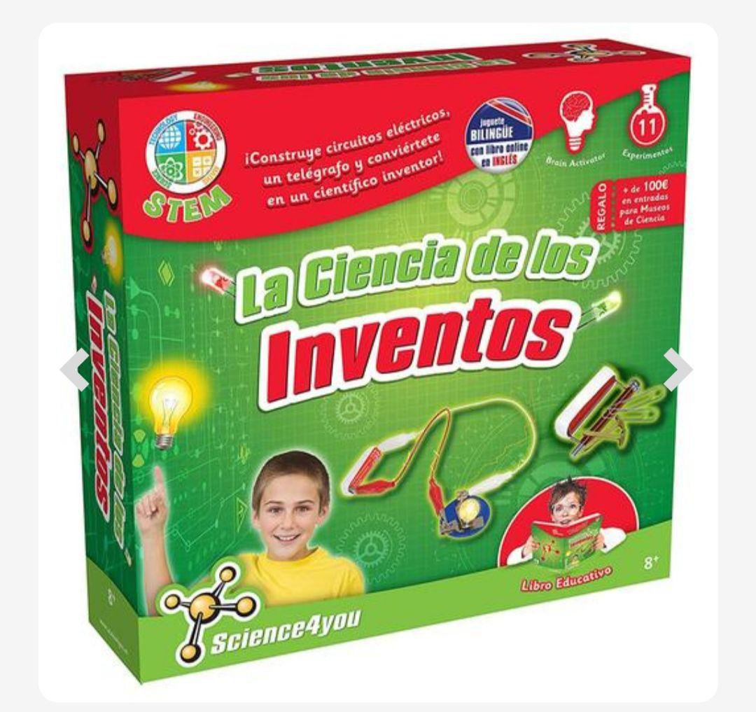 La Ciencia de Los Inventos (Cupón de 0,62€)