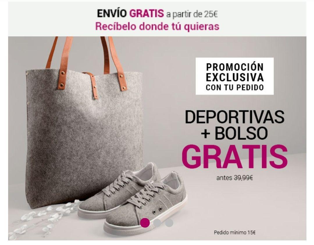 Deportivas + bolso gratis en Venca con tu pedido +15€.