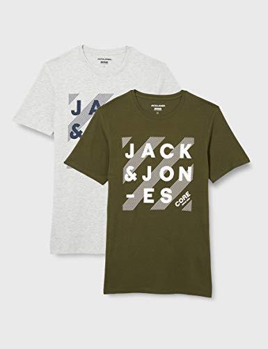 TALLAS S a XXL - Pack 2 Camisetas Jack & Jones JJHero (Desde 5.24€)