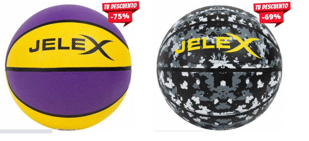 Varios Modelos - Balon de Basket Jelex Sniper (3 Modelos 5.55€)