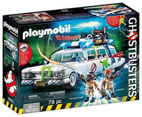 Cazafantasmas PLAYMOBIL Ghostbusters Ecto-1 con Módulo de Luz y Sonido