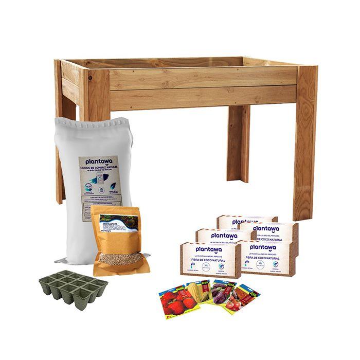 Kit de Cultivo con mesa de 150 litros 120x80x80cm
