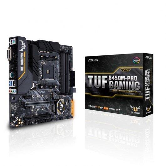 Placa Base Asus TUF B450M-PRO Gaming
