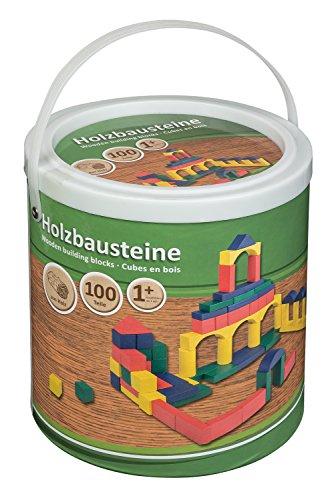 Cubo, de 100unidades, de bloques de construcción color/modelo surtido