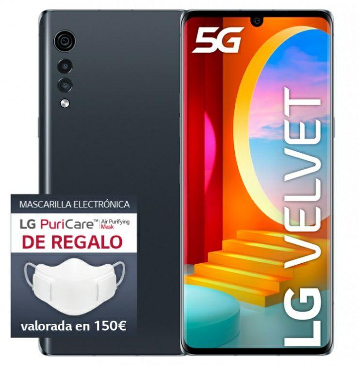 LG VELVET 5G + LG PuriCare de REGALO