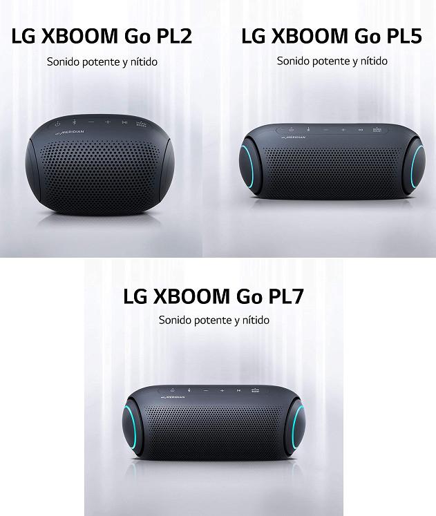 Gama XBOOM Go de LG desde 24,65€