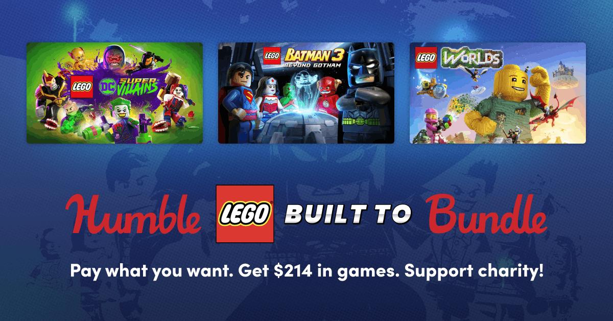Pack Juegos LEGO desde 1€ [STEAM]