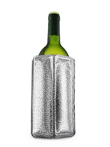 Enfriador activo de vino, de Plástico,color Plata.