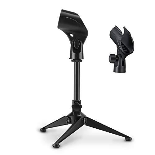 Soporte universal ajustable para micrófono
