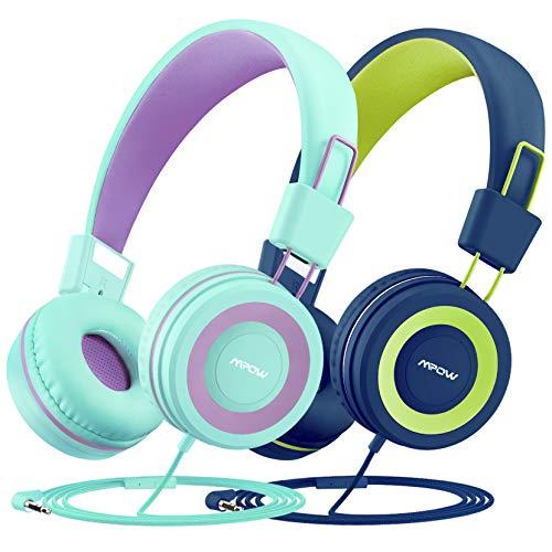 Mpow CH8 Auriculares para niños (2 Pack), Micrófono Incorporado
