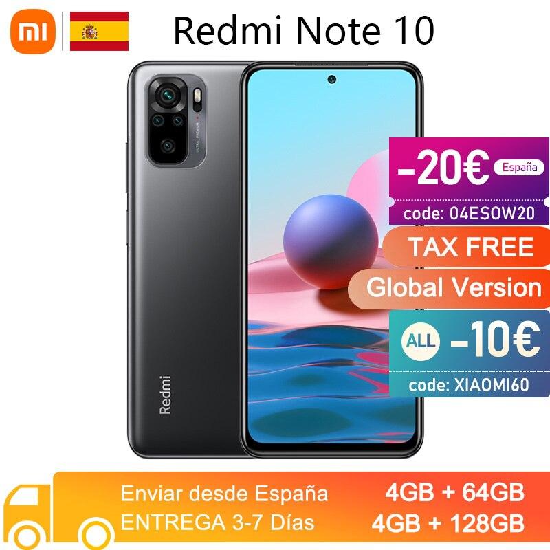 Xiami Redmi Note 10 4GB - 64GB Envío desde España