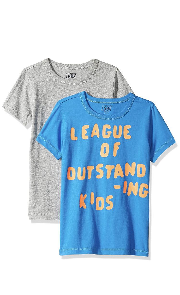2 camisetas Talla 128cm (8años) Talla 116 (6años) en descripción