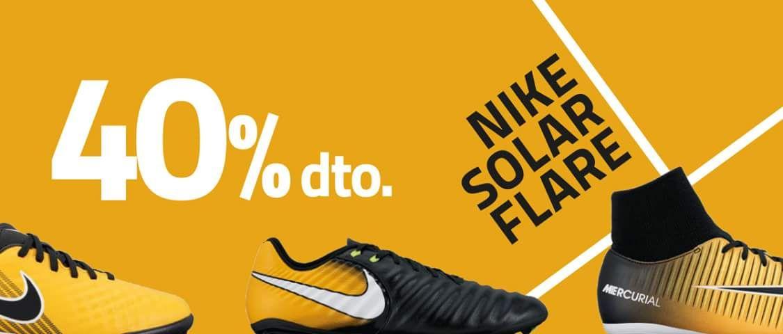 40% en botas de fútbol Nike