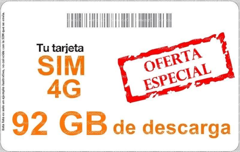 90gb + 2gb 4g en casa
