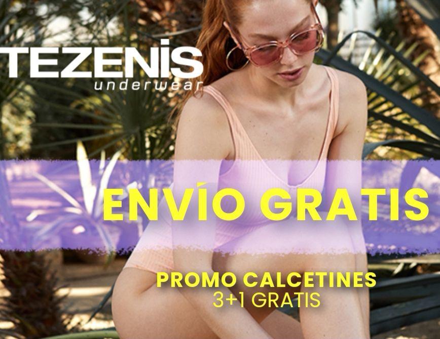 Envío Gratis +descuentos y promociones TEZENIS!