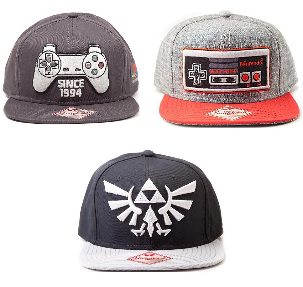 Gorra Zelda Logo Trifuerza o mando Nintendo/Playstation por 9,95€