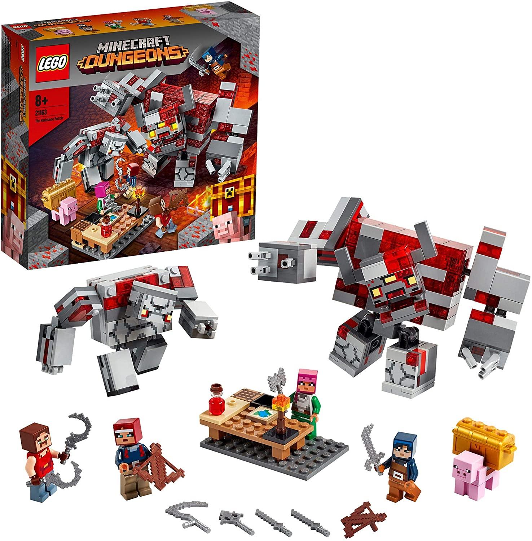 Lego Minecraft Batalla piedra roja solo 21.9€