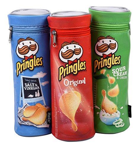 Estuche basado en las famosas patatas Pringles