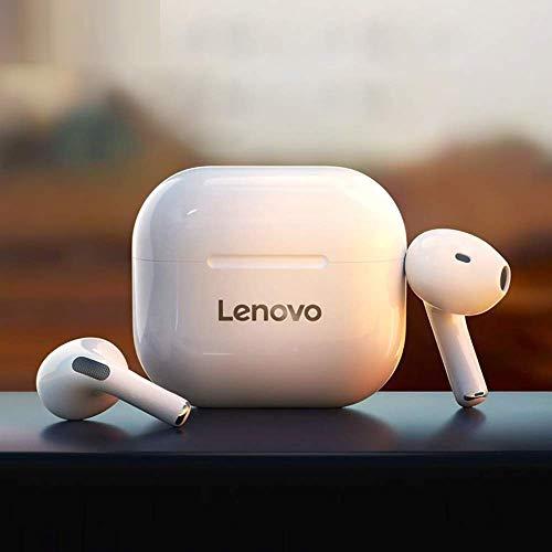 LENOVO TWS Auriculares Semi-en la Oreja BT 5.0 Cancelación de Ruido