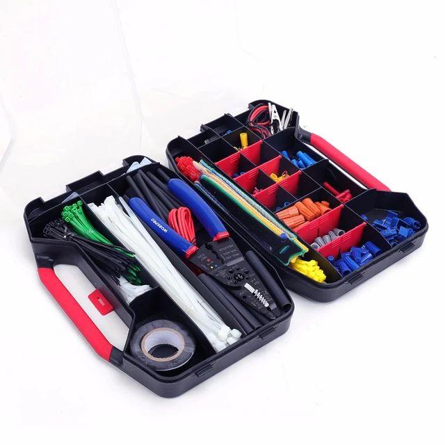 2 MALETINES de herramientas de red de electricista