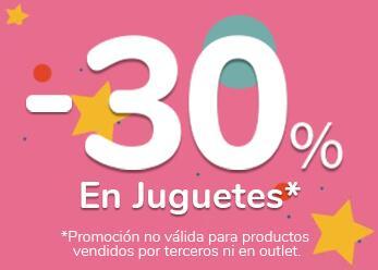 Descuento 30% Juguetes en Carrefour