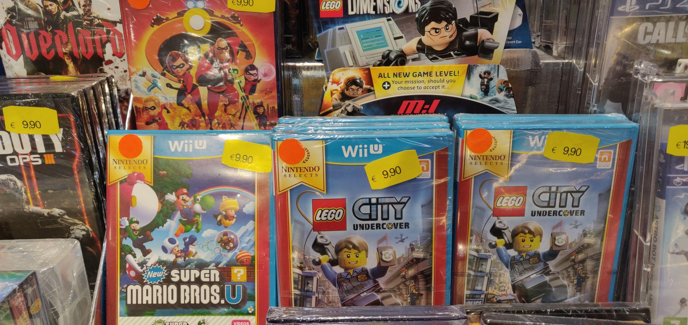 Juegos precintados Wii U por 9.90€