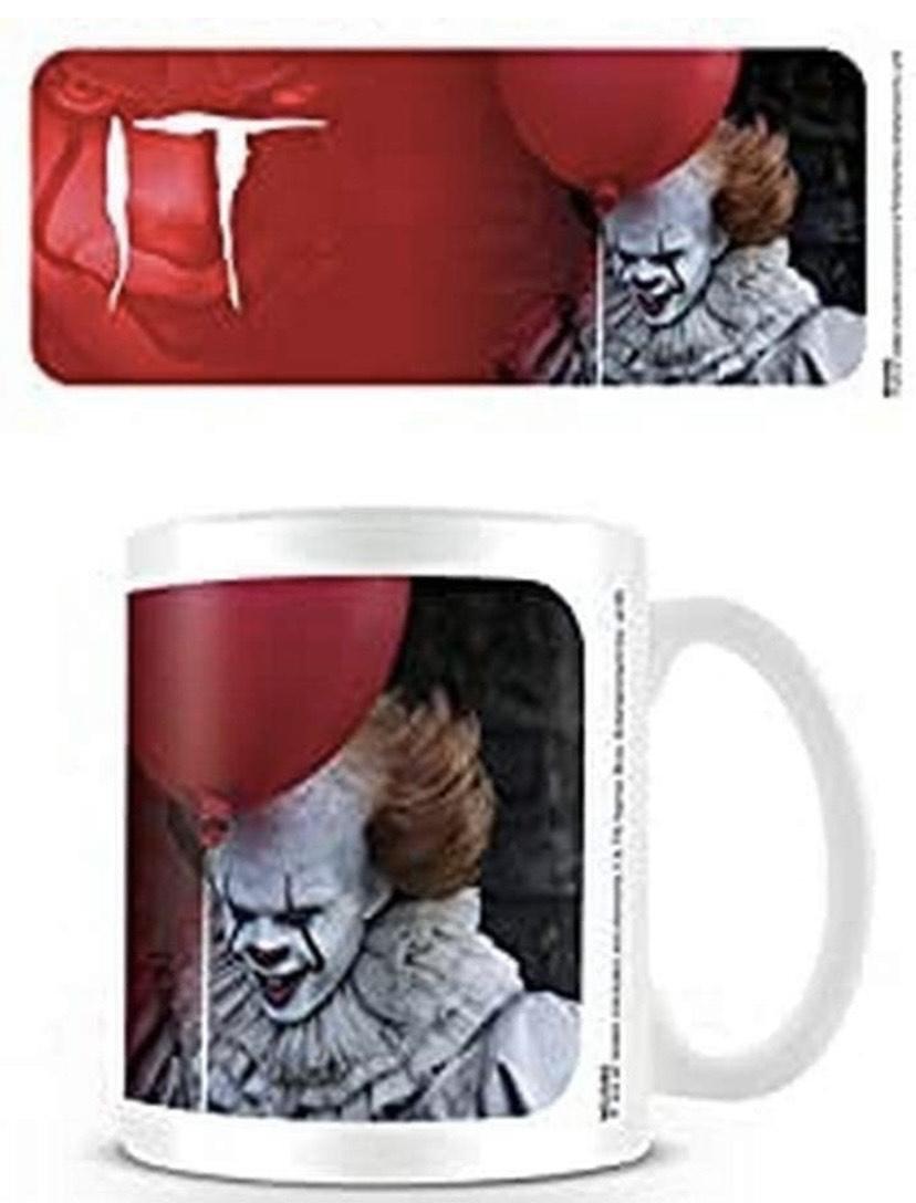 Taza It - Mug Pennywise Red de cerámica de 320ML