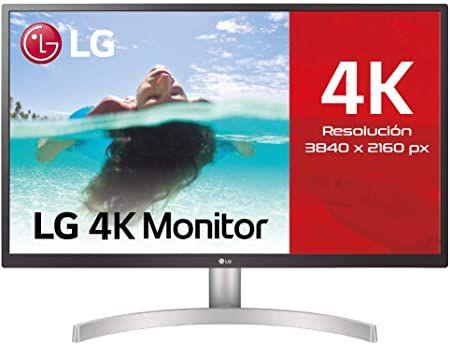 Monitor 4k LG 27UL500-W IPS 60Hz