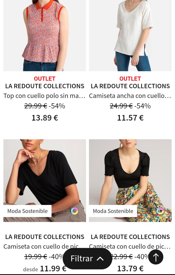 -40% dto en camisetas LaRedoute