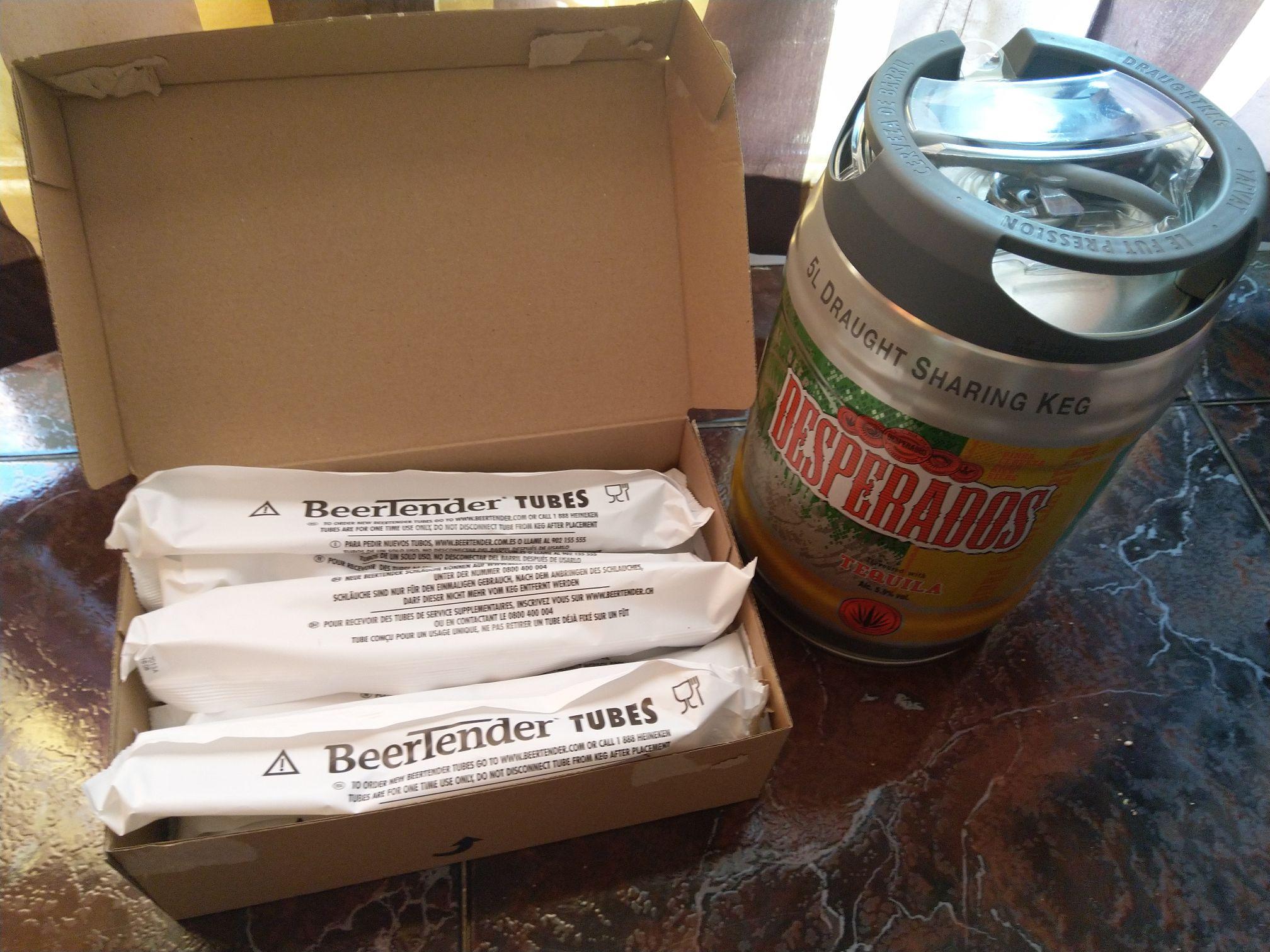 + Pack 10 tubos para Beertender/Torp