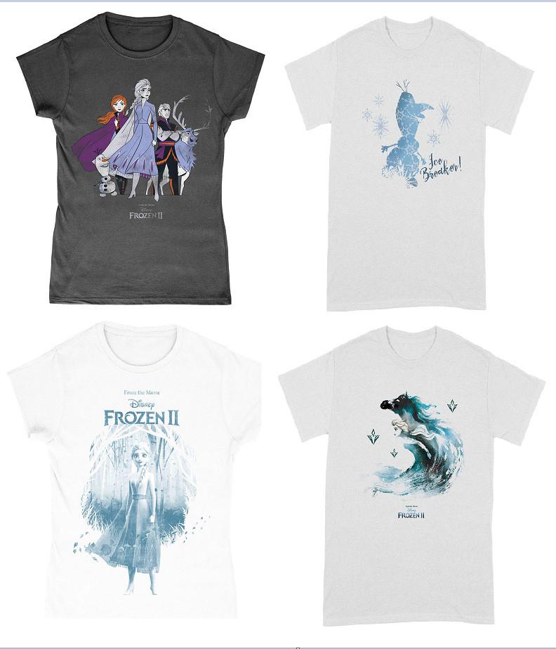 Camisetas de Disney Frozen II por sólo 6,95€ (Muchas tallas disponibles)