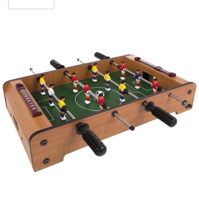 Futbolín infantil de madera