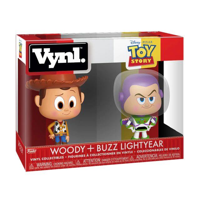 Set 2 Figuras Funko Vynil Disney Toy Story Woody & Buzz