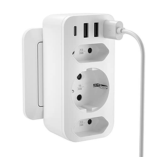 USB Enchufe [4000W], Enchufe USB Multiple