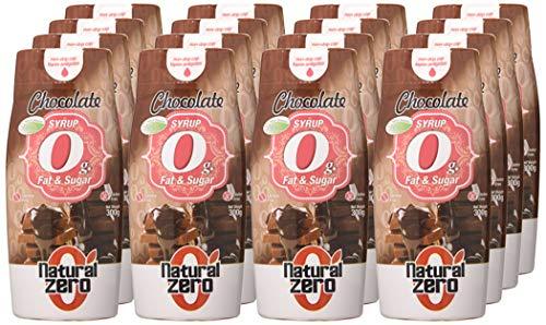 15 x Sirope de chocolate sin azúcares ni grasas Natural Zero (1,11€ c/u)