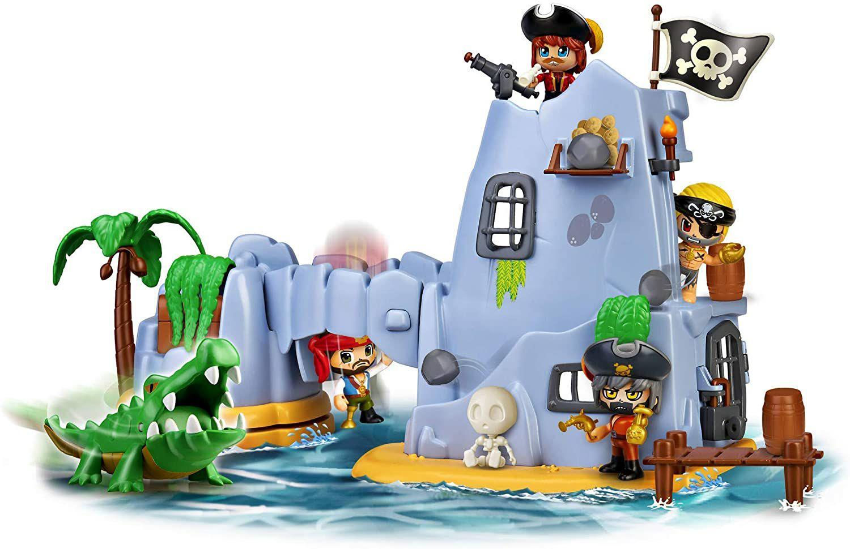 Pin y Pon Action - Isla pirata del Capitán Caimán