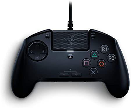 Mando - Razer Raion Fightpad Arcade, PS4, PC, USB, Touch Pad, Negro