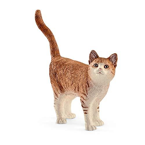 Figura Lindo gatito naranja Schleich y otros!