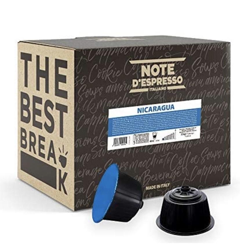 Note d'Espresso Italiano - 48 Cápsulas de café de Nicaragua