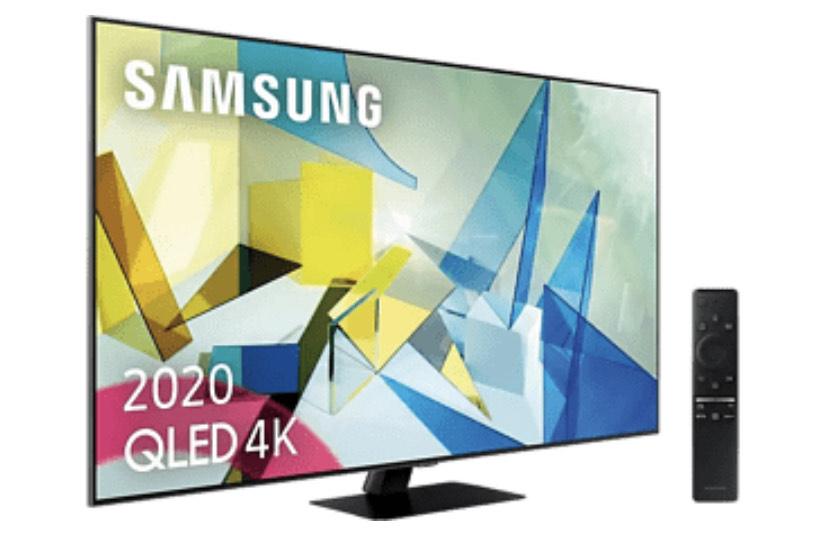 Samsung QLED 4K 2020 55Q80T MediaMarkt día sin IVA